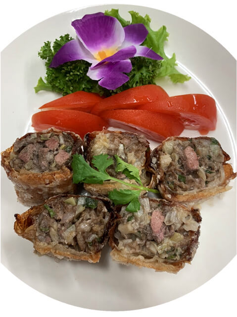 Spiced Meat Roll