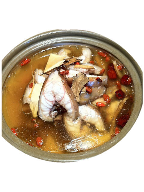 Eel Stewed with Chinese Wolfberry Pot